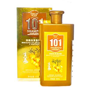 Шампунь для волос Oumile 101 от облысения с имбирем, 400 мл.