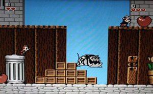 Скриншот из игры Чип и Дейл