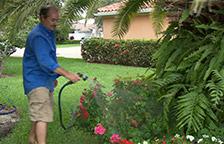 Расширяющийся шланг для полива с водораспылителем Х-hose Икс хоз иксхоз Xhose - 30 м - фото 10