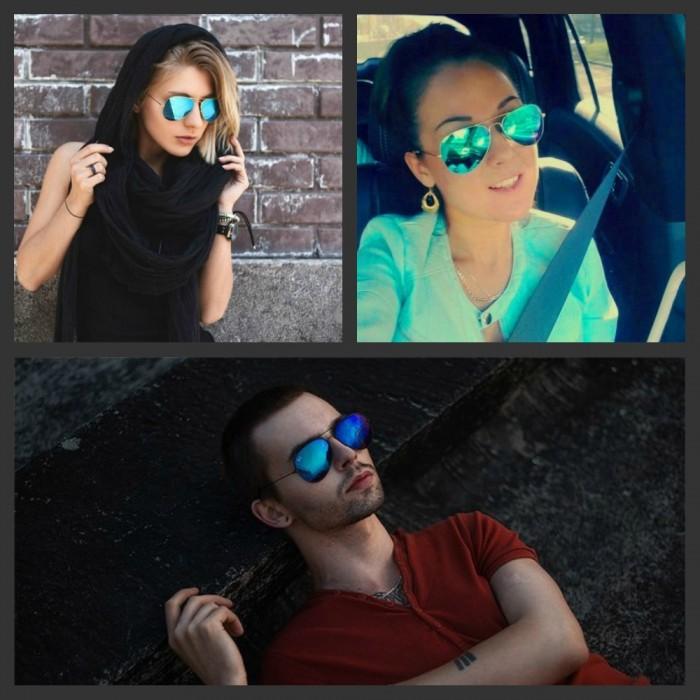 Солнцезащитные очки Aviator капля RB 3026 3C красные - фото 1d4cd07486a46c701a3a2de1d3c59ca4.jpg
