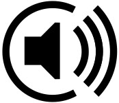 Логотип пространственного звука