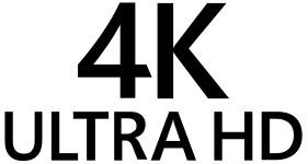 Логотип 4K Ultra HD