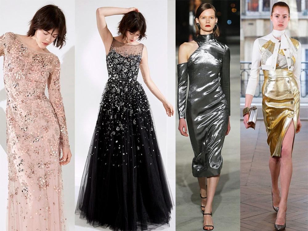 Модная тенденция – блеск
