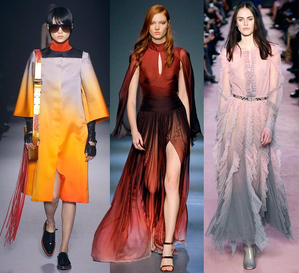 Градиент – модная тенденция