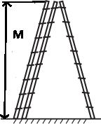 Лестницы и стремянки Трехсекционная алюминиевая лестница VIRASTAR 3x8 ступеней - фото 2