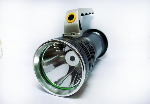 Тактический прожектор POLICE BL-T801. Современный супермощный фонарь. 3 режима. Прочный  корпус. Код: КТМТ167 - фото 1