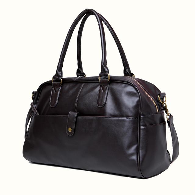 Стильная, модная, дорожная мужская сумка портфель. Сумка в дорогу. Повседневные сумки. Мода. Стиль. Код: КСЕ78 - фото 2