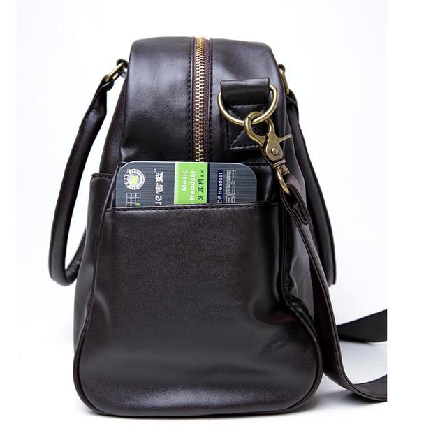 Стильная, модная, дорожная мужская сумка портфель. Сумка в дорогу. Повседневные сумки. Мода. Стиль. Код: КСЕ78 - фото 3