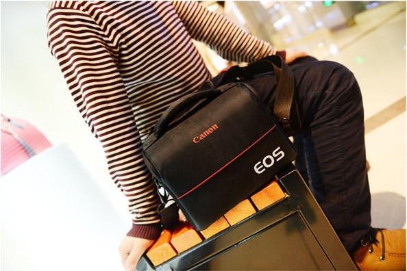 Отличная сумка Canon EOS. Фотосумка Кэнон. Высокое качество. Вместительная сумка. Купить сумку. Код: КДН1079 - фото 11