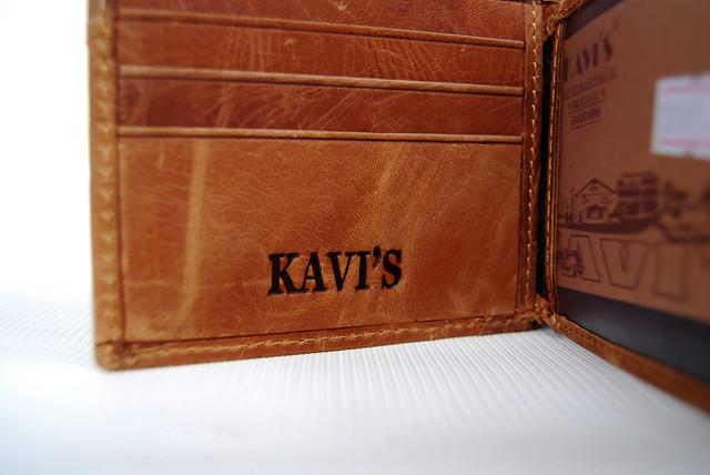 """Мужской кожаный кошелек, портмоне, бумажник KAVI""""S. Кошелек на подарок. Подарок для мужчин. НАТУРАЛЬНАЯ КОЖА! - фото 5"""