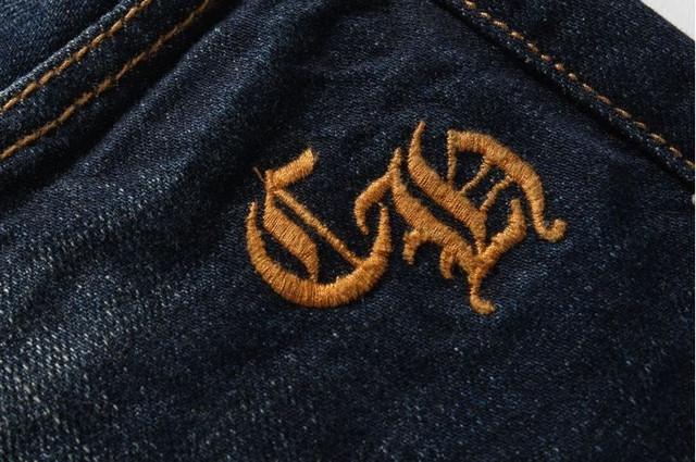 Суперцена! Джинсы СHROME HEARTS. Оригинал USA. Высокое качество. Удобные джинсы. Интернет магазин. Код: КДН992 - фото 7