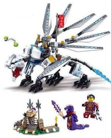 """Конструктор Bela NINJA Динозавр """"Титановый дракон"""" 10323, аналог лего 70748 - фото 2"""