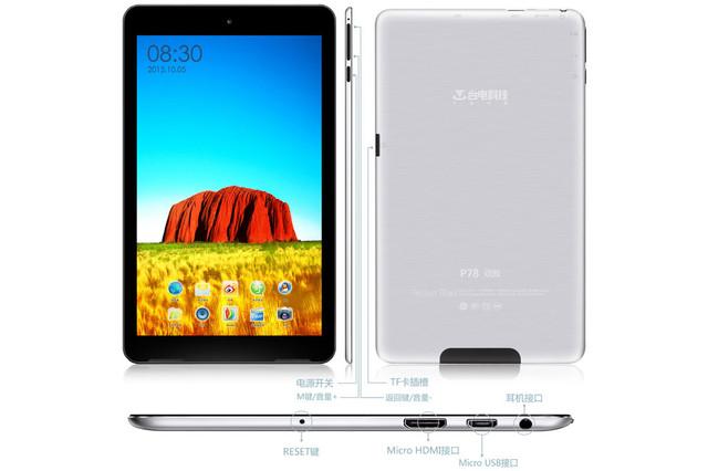 Ультратонкий планшет Teclast P78. 7.2mm. Металлический корпус. IPS 1280x800. Интернет магазин. Код: КТМТ286 - фото 2