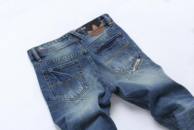 Стильные и модные джинсы Diesel Adidas. Качественные джинсы. Мужские джинсы. Купить в интернете. Код: КДН990 - фото 7
