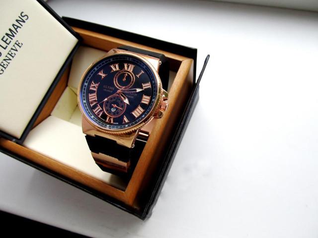 Часы мужские Ulysse Nardin. Наручные часы мужские. Интернет магазин часов. Отличный подарок мужчине. Код: КЧ20 - фото 3