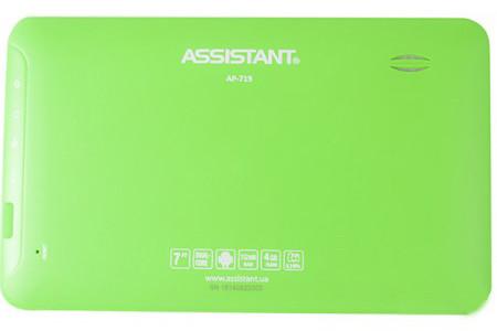 Дешевый планшет Assistant AP-719. 4 Гб. Качественный планшет. Планшет на гарантии. Интернет магазин. Код: КТМТ47 - фото 2