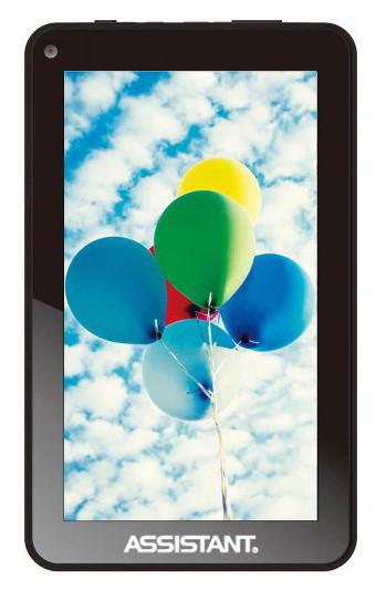 Дешевый планшет Assistant AP-719. 4 Гб. Качественный планшет. Планшет на гарантии. Интернет магазин. Код: КТМТ47 - фото 1
