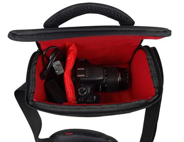 Отличная сумка Canon EOS. Фотосумка Кэнон. Высокое качество. Вместительная сумка. Купить сумку. Код: КДН1079 - фото 4