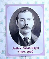 Портреты английских поэтов и писателей Arthur Ignatius Conan Doyle 25х33 см