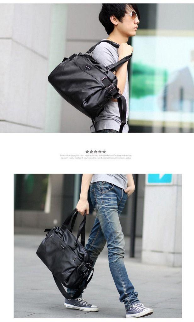 Городская сумка Calvin Klein. Мужская кожаная сумка. Дорожная сумка. Сумки из кожи. Удобная сумка. Код: КСГ1 - фото 3