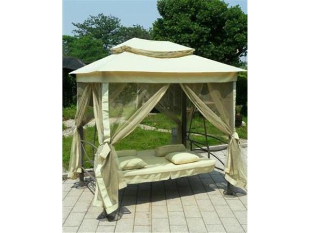Качель-кровать садовая 3-ех местная HOLLYWOOD - фото 1