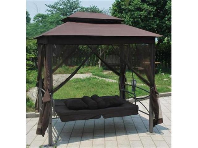 Качель-кровать садовая 3-ех местная HOLLYWOOD - фото 4