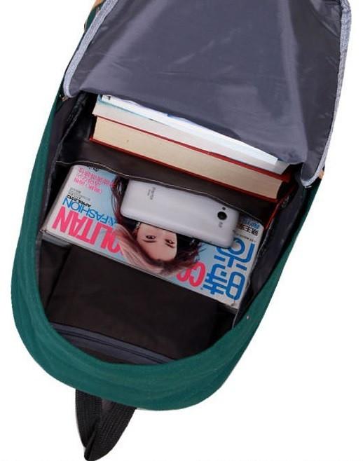 Городской рюкзак. Повседневный  рюкзак. Рюкзак для студентов. Современные рюкзаки. Код: КРСК7 - фото 7