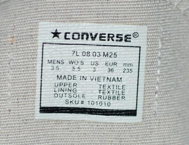 Стильные кеды Converse. Недорогие кеды. Молодежная обувь. Качественная обувь. Производитель Вьетнам. КТМ217-1 - фото 10