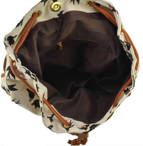 Городской рюкзак. Женский рюкзак. Современные рюкзаки Softback. Рюкзаки с рисунками. Качество. Код: КСР6-1 - фото 6