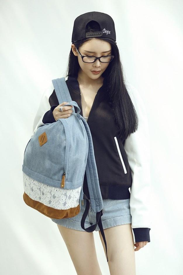Городской рюкзак. Модный  рюкзак. Рюкзаки женский.  Современные рюкзаки. Код: КРСК32 - фото 6