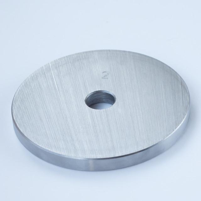 Блин для штанги или гантелей 2 кг металлический (диски утяжелители для гaнтелей и штaнги) - фото 1