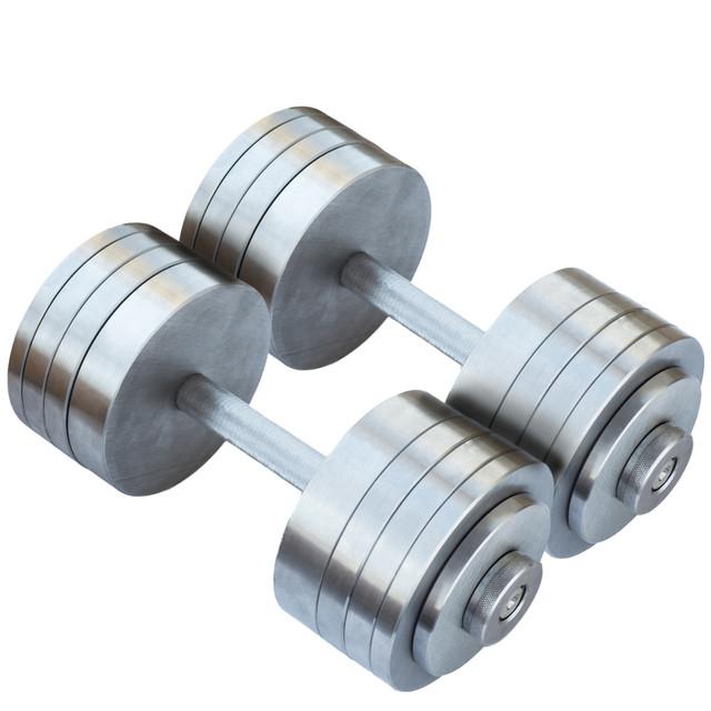 Гантели наборные 2*30 кг (Общий вес 60 кг) Металл (гантелі розбірні наборні наборные для дома дешёвые 30 кг) - фото 1
