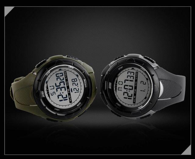Спортивные часы. Водонепроницаемые часы. Противоударные часы. Мужские часы. Отличный подарок. Высокое качество - фото 7