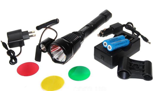 Подствольный фонарь Bailong BL-Q2800-T6 50000W. Металлический корпус. 6800 mAh. Качество. Код: КТМТ159 - фото 6