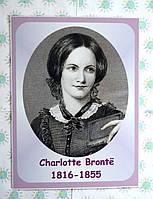 Портреты английских поэтов и писателей Charlotte Brontë