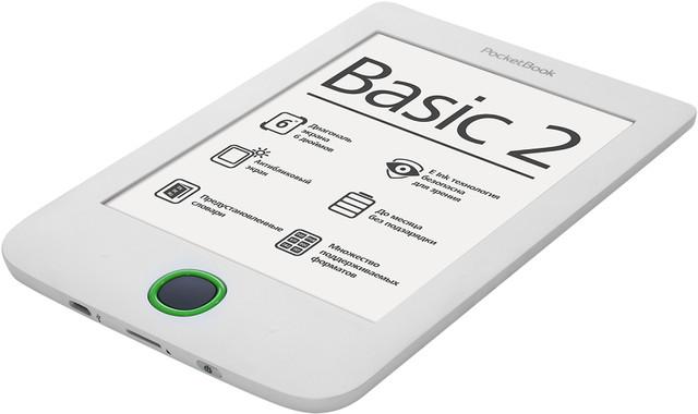 Электронная книга PocketBook 614 Basic 2 White - фото 1