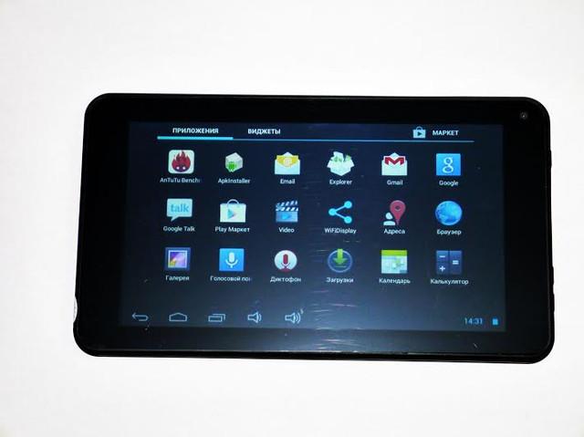 Качественный планшет UKC 733R. Планшет на гарантии. Недорогой планшет с двумя камерами. Код: КТМ210 - фото 2