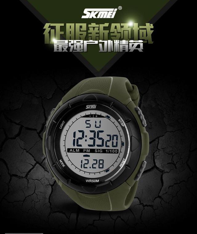 Спортивные часы. Водонепроницаемые часы. Противоударные часы. Мужские часы. Отличный подарок. Высокое качество - фото 3