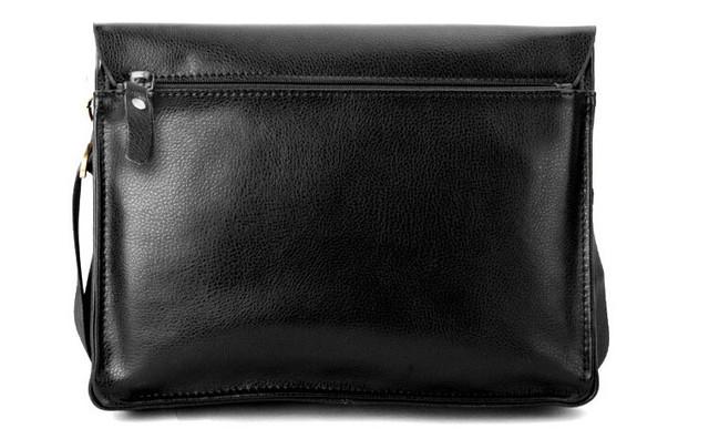 Кожаная мужская сумка портфель ПОЛО А4. Сумки для мужчин. Модные сумки. Офисные сумки. Код: КСЕ46-1 - фото 2