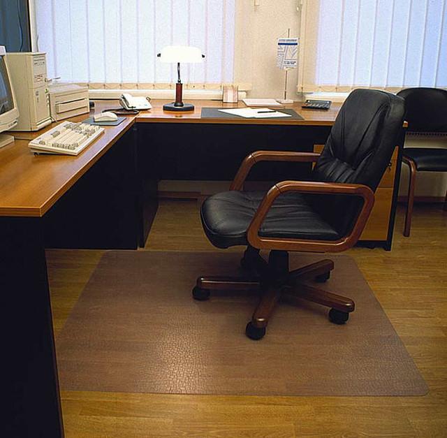 Отличная защита напольного покрытия. Защитный коврик под стул. Хорошее качество. Доступная цена. Код: КДН932 - фото 2