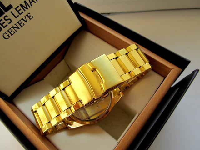 Часы мужские PATEK PHILIPPE. Наручные часы patek philippe geneve. Мужские кварцевые часы. Код: КЧ13 - фото 4