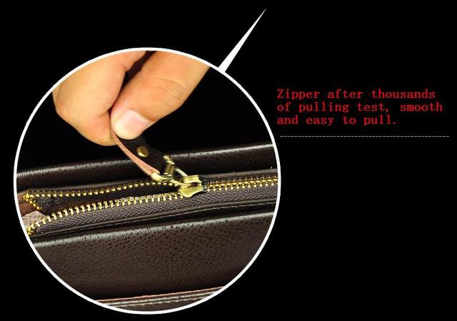 Мужская сумка портфель ПОЛО. Сумки для мужчин. Модные сумки. Офисные сумки. 2 Цвета Код: КСЕ134 - фото 3