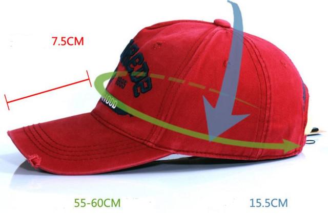 Стильная бейсболка DSQUARED2. Оригинал. Отличное качество. Интересный дизайн. Купить онлайн. Код: КДН295 - фото 18