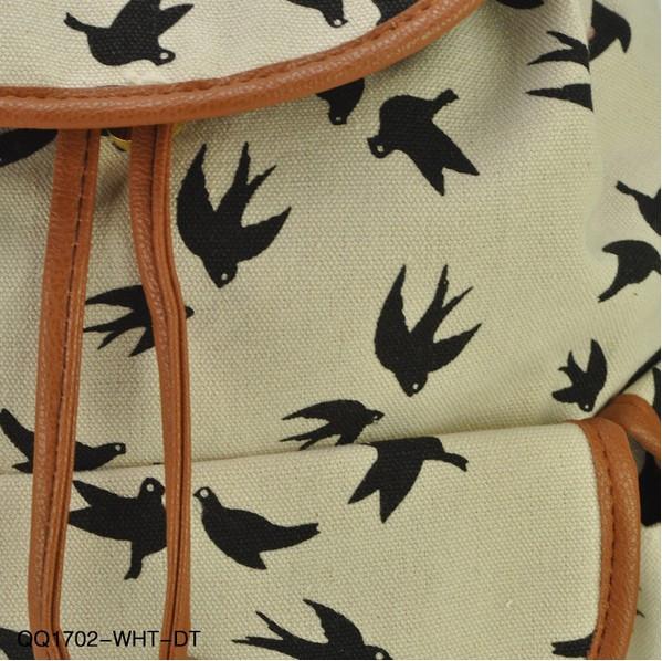 Городской рюкзак. Женский рюкзак. Современные рюкзаки Softback. Рюкзаки с рисунками. Качество. Код: КСР6-1 - фото 7