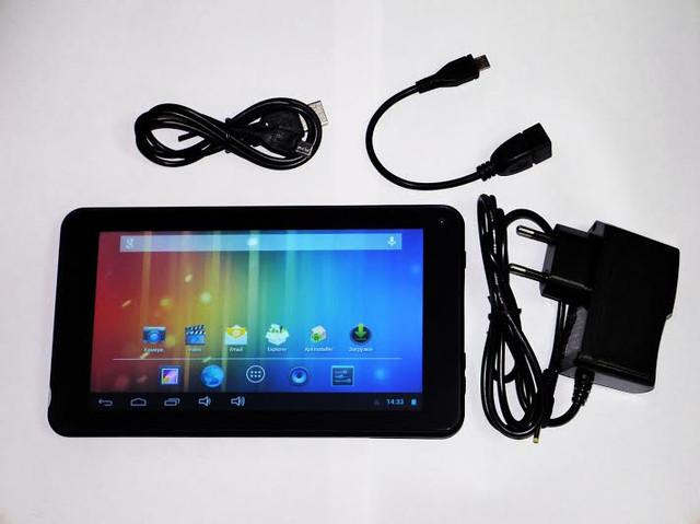 Качественный планшет UKC 733R. Планшет на гарантии. Недорогой планшет с двумя камерами. Код: КТМ210 - фото 5