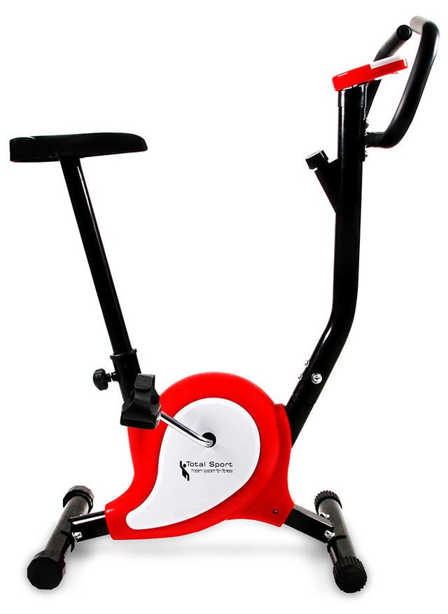 Велотренажер механический Total Sport Webber Evo вертикальный для дома (механічний велотренажер для дому) - фото 1