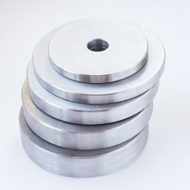Блин для штанги или гантелей 10 кг металлический (диски утяжелители, млинець металевий) - фото 4