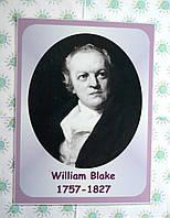 Портреты английских поэтов и писателей William Blake 25х33 см