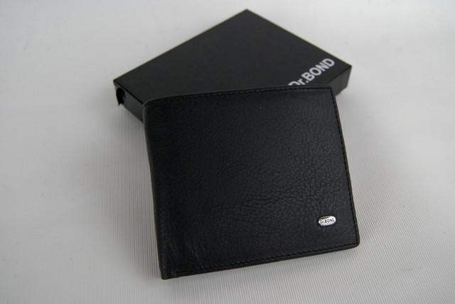 Мужское портмоне из натуральной кожи. Портмоне, бумажник мужской. На подарок мужчине. НАТУРАЛЬНАЯ КОЖА! Код: КСЕ11 - фото 7