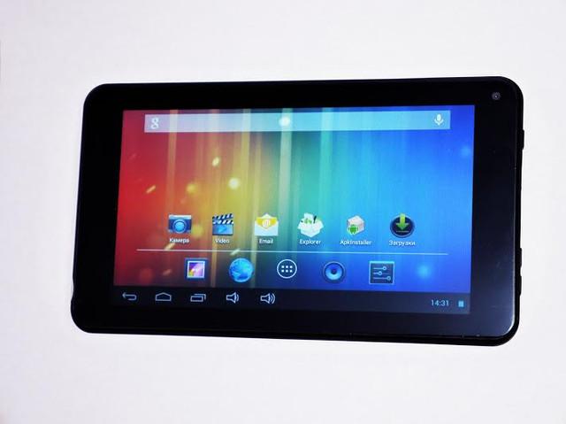 Качественный планшет UKC 733R. Планшет на гарантии. Недорогой планшет с двумя камерами. Код: КТМ210 - фото 7